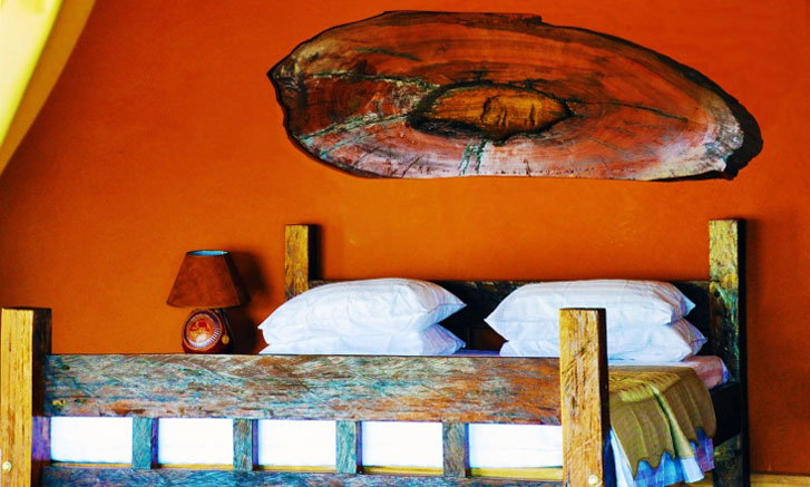 Kabalega Lodge Bedroom at Murchison Falls